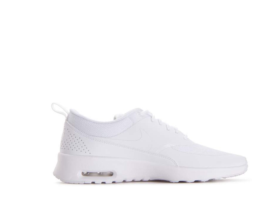 599409-110 Nike Dames Air Max Thea Schoenen - Wit/Wit/Pure Platinum