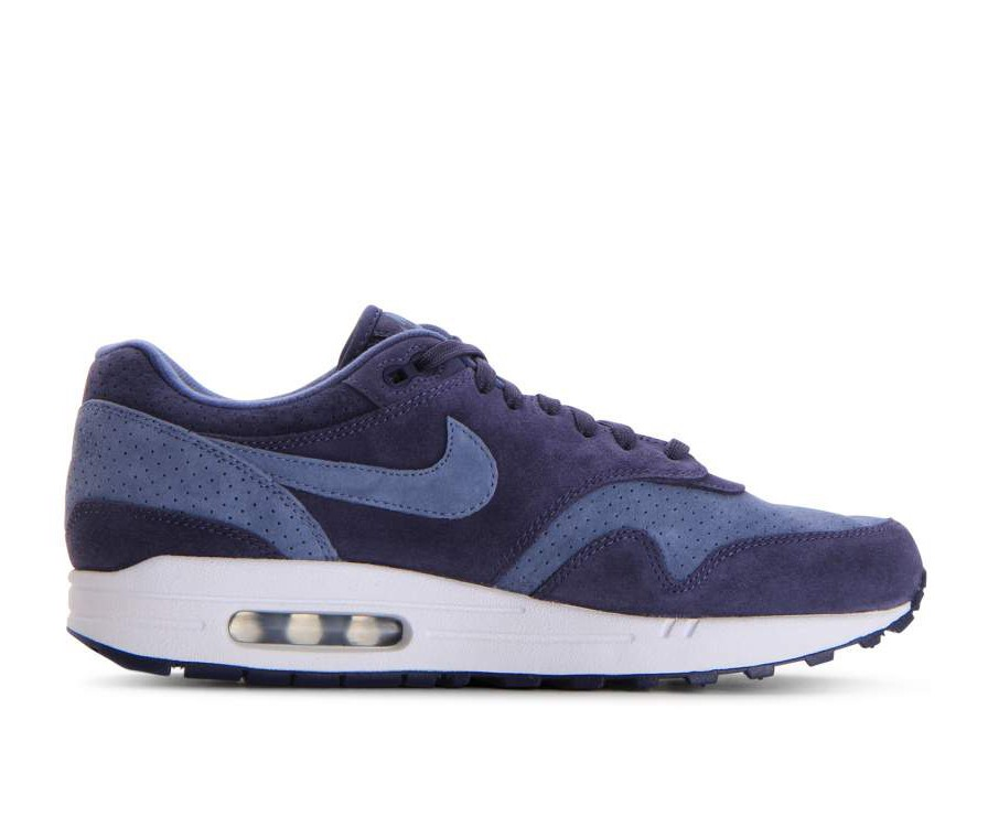 875844-501 Nike Air Max 1 Premium - Neutral Indigo/Blauw/Wit