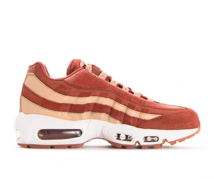 AA1103-201 Nike Dames Air Max 95 LX - Dusty Peach/Dusty Peach-Beige