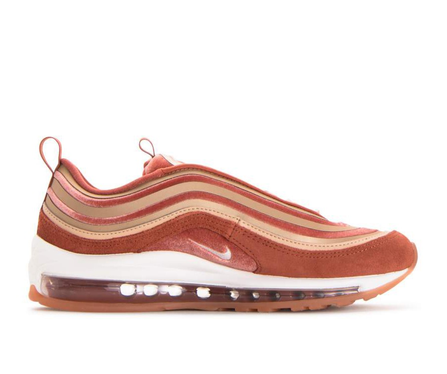 AH6805-200 Nike Dames Air Max 97 Ultra Lux - Dusty Peach/Wit-Beige