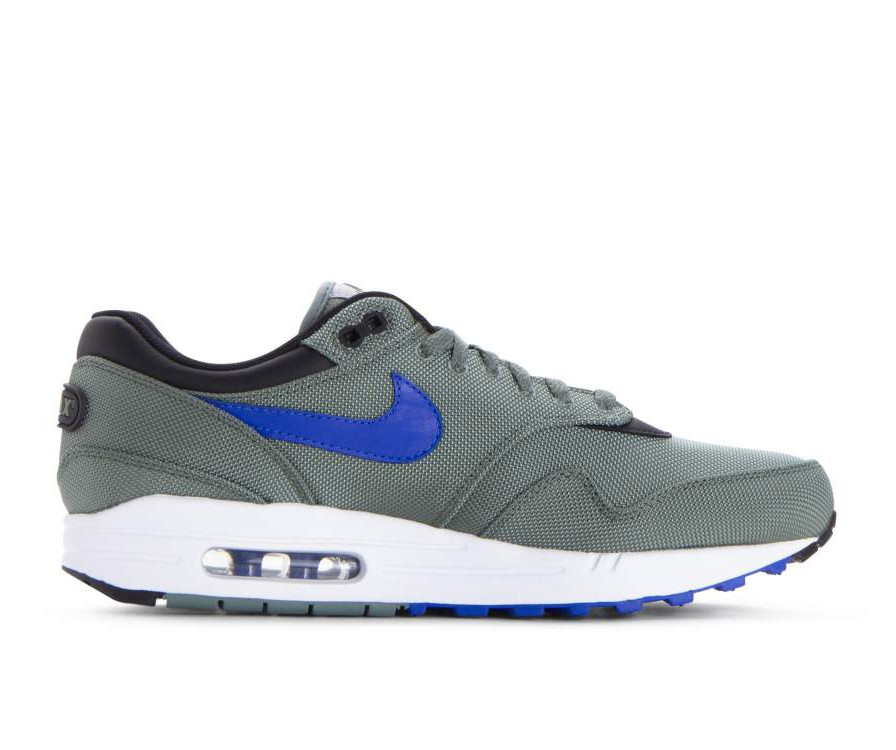 875844-300 Nike Air Max 1 Premium - Groen/Hyper Royal-Wit-Zwart