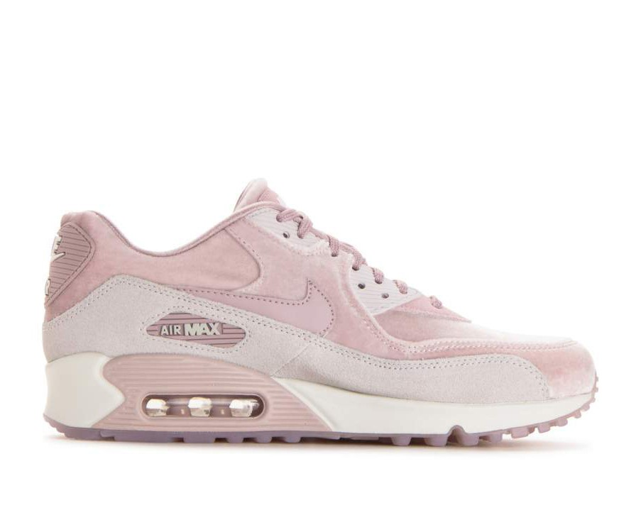 898512-600 Nike Dames Air Max 90 LX - Particle Rose/Particle Rose-Grijs