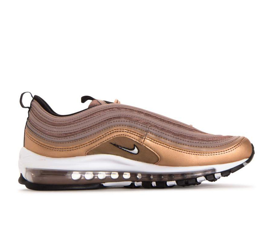 921826-200 Nike Air Max 97 - Desert Dust/Wit-Metallic Rood Bronze