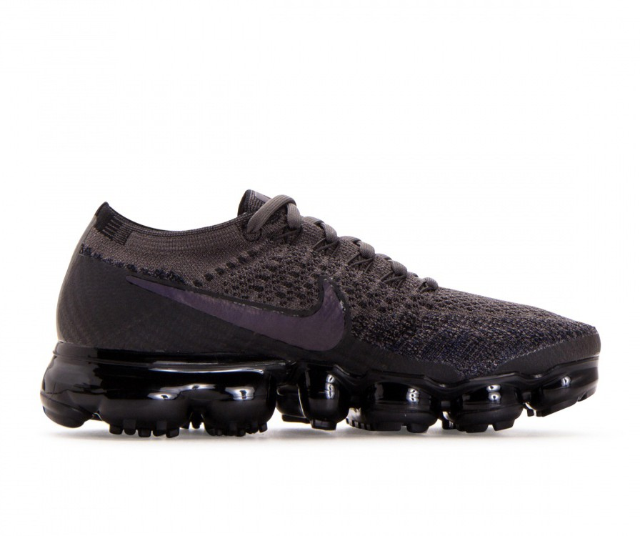 849557-009 Nike Dames Air Vapormax Flyknit - Midnight Fog/Multi-Color-Zwart