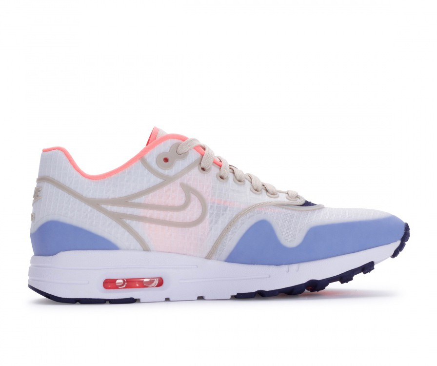 881103-102 Nike Dames Air Max 1 Ultra 2.0 SI - Sail/Oatmeal-Lava Glow-Wit