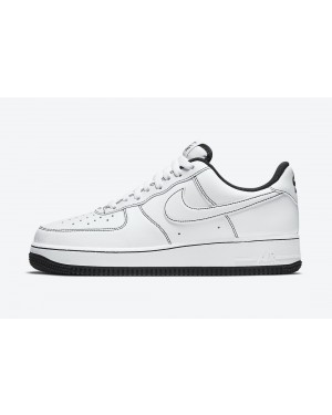 CV1724-104 Nike Air Force 1 Low Schoenen - Wit/Zwart