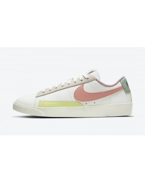 DJ0035-161 Nike Dames Blazer Low LE - Sail/Wit-Coconut Milk-Bright Crimson