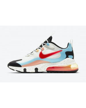 """DD8498-161 Nike Air Max 270 React """"The Future is in the Air"""" - Wit/Infrared"""