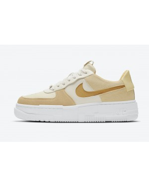 DH3856-100 Nike Air Force 1 Pixel - Sail/Bucktan-Coconut Milk-Lemon Drop
