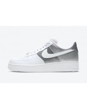 DD6629-100 Nike Dames Air Force 1 '07 - Wit/Wit-Metallic Silver