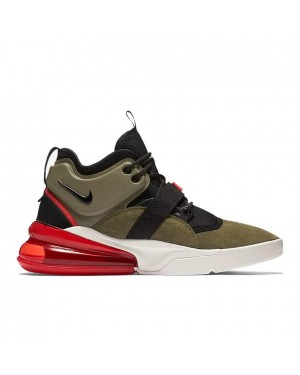 AH6772-200 Nike Air Force 270 - Olive/Rood/Sail/Zwart