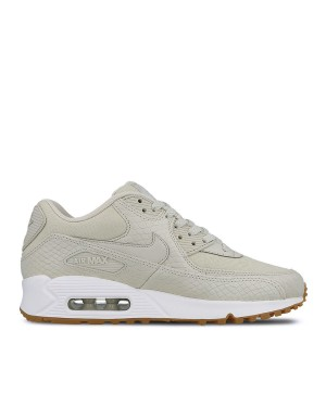 896497-001 Nike Dames Air Max 90 PRM Schoenen - Light Bone/Wit