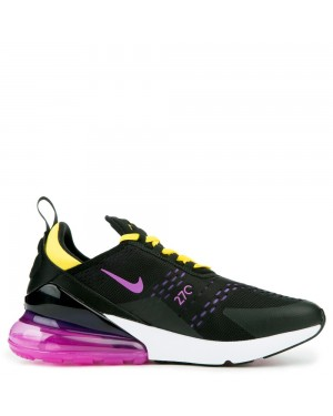 AH8050-006 Nike Air Max 270 Schoenen - Zwart/Hyper Magenta/Hyper Grape