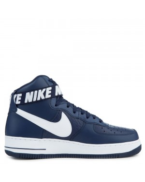 315121-414 Nike Air Force 1 High '07 Schoenen - Blauw/Wit