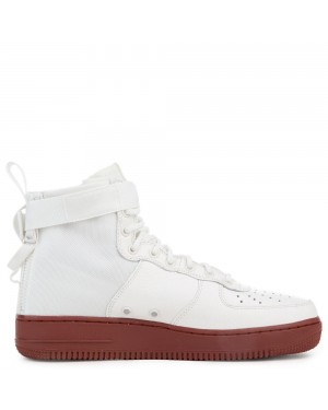 917753-100 Nike Sf Air Force 1 Mid Schoenen - Ivory/Ivory-Mars Stone
