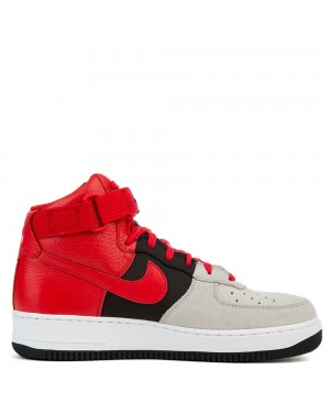 806403-007 Nike Air Force 1 High '07 LV8 - Grijs/Rood-Zwart