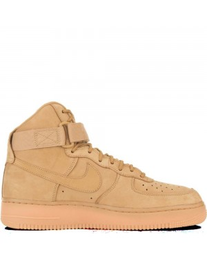 882096-200 Heren Nike Air Force 1 High Schoenen - Wheat/Wheat/Bruin