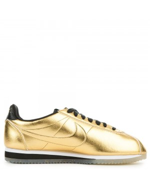 902854-700 Nike Dames Classic Cortez Leather SE - Metallic Goud/Wit-Zwart