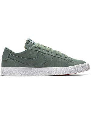 Nike SB Blazer Low Canvas Deconstructed AH3370-300 - Groen/Deep Jungle