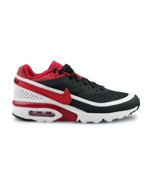 Nike Air Max BW Ultra SE Heren Zwart/Wit/Metallic Silver/Rood 844967-006