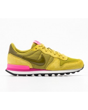 Nike Dames Internationalist (Geel/Roze) 828407-302