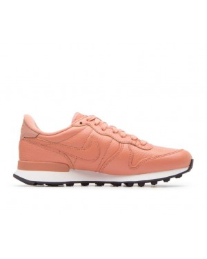 828404-205 Nike Dames Internationalist Premium - Terra Blush/Oranje-Wit