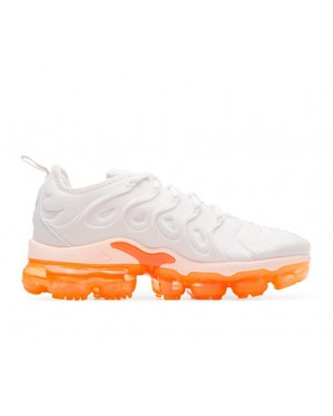 AO4550-005 Nike Dames Air Vapormax Plus - Phantom/Crimson Tint-Oranje-Zwart