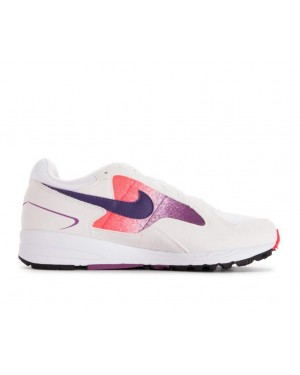 finest selection febcb be360 AO4540-102 Nike Dames Air Skylon II Schoenen - Wit/Paars-Rood ...