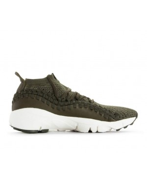AO5417-300 Nike Air Footscape Woven NM Flyknit - Cargo Khaki/Dark Stucco-Groen
