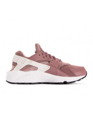 634835-203 Nike Dames Air Huarache Run - Smokey Mauve/Wit-Diffused Taupe