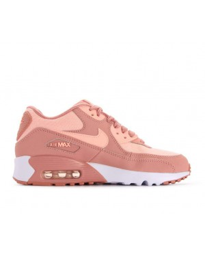 880305-601 Nike Air Max 90 SE Mesh GS - Roze/Roze-Guava Ice-Wit
