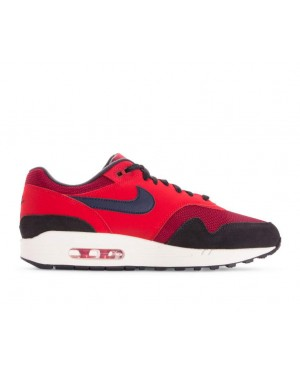 AH8145-600 Nike Air Max 1 - Rood/Midnight Navy-Rood