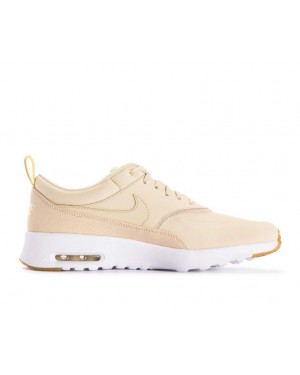 616723-204 Nike Dames Air Max Thea Premium Schoenen - Beach/Metallic Gold-Sail