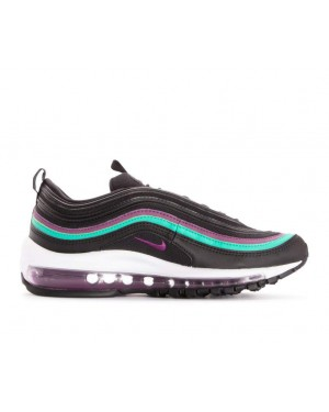 921733-008 Nike Dames Air Max 97 - Zwart/Paars-Clear Emerald