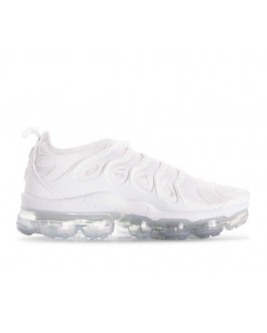 924453-100 Nike Air Vapormax Plus Schoenen - Wit/Wit-Pure Platinum