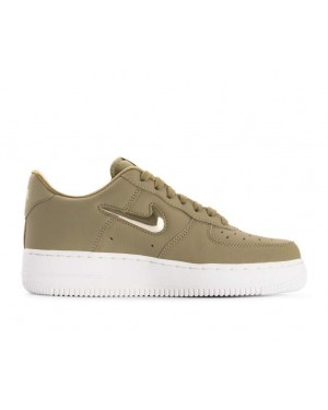 buy popular e93c4 453af AO3814-200 Nike Dames Air Force 1 07 Premium LX - OliveMetallic ...