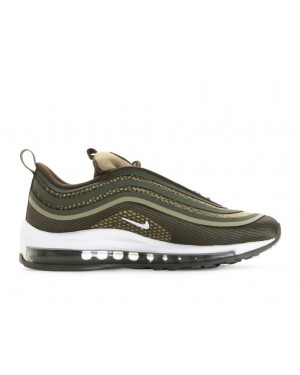 917998-300 Nike Air Max 97 Ultra '17 GS - Cargo Khaki/Wit-River Rock