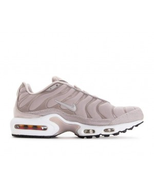 848891-200 Nike Dames Air Max Plus Premium - Moon Particle/Moon Particle/Wit