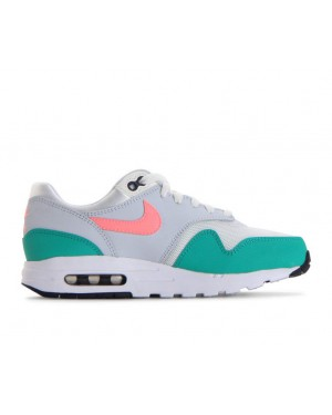 807602-105 Nike Air Max 1 GS - Wit/Sunset Pulse/Groen