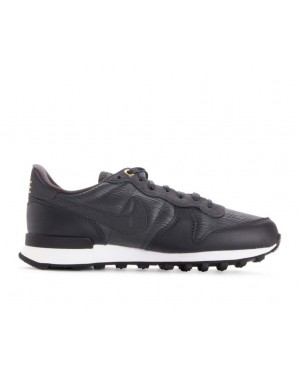 828404-012 Nike Dames Internationalist Premium - Anthracite/Wit