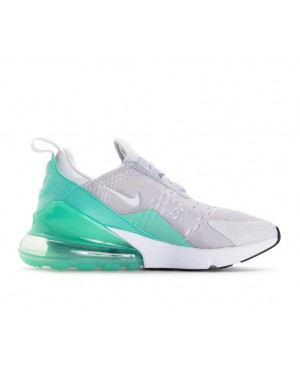 943346-002 Nike Air Max 270 GS Schoenen - Pure Platinum/Wit