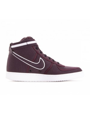 318330-600 Nike Vandal High Supreme - Burgundy/Burgundy/Wit