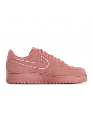 AA1117-601 Nike Air Force 1 '07 Lv8 Suede - Rood/Rood/Rood