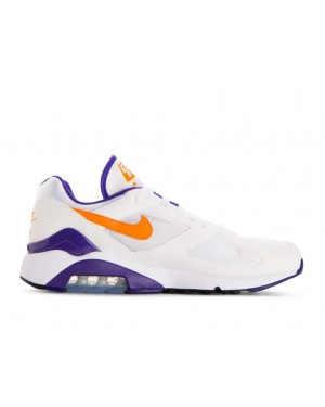 615287-101 Nike Air Max 180 Schoenen - Wit/Bright/Ceramic/Dark Concord