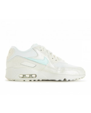 833340-107 Nike Air Max 90 Mesh GS Schoenen - Sail/Igloo