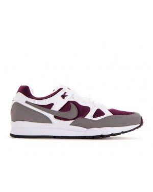 AH8047-102 Nike Air Span II Schoenen - Wit/Dust-Bordeaux-Zwart