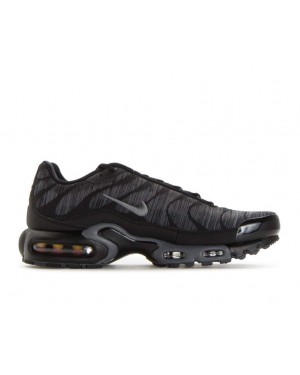 845006-003 Nike Air Max Plus Jacquard - Zwart/Anthracite-Grijs