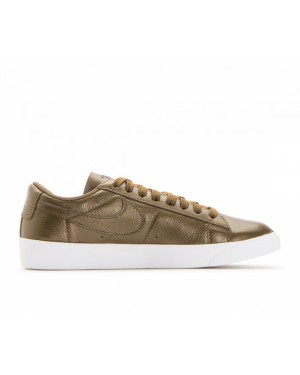 AA3961-900 Nike Dames Blazer Low LE - Metallic Field/Metallic Field-Wit