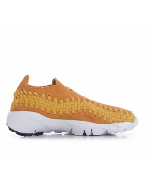 875797-700 Nike Air Footscape Woven NM - Desert Ochre/Desert Ochre-Gold Dart